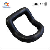 Forging Part Steel Weld on Bent D Ring with Bracket