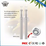 Stainless Steel D1 310mAh 0.5ml Glass Ceramic Atomizer Disposable Health Cigarette