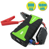 Advanced Safety Protection and Built-in LED Flashlight Car Jump Starter