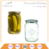 Cucumber Canning Jars, Pickle Jars with Lids