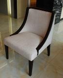 Custom Wooden Black Frame Restaurant Chair / Dining Room Furniture