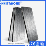 Competitive Price Silver Brushed Aluminium Composite Material for Wall Cladding
