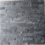 Natural Dark Grey/Black Cultured Stone for Wall Cladding