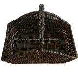 Customized Handled Handcrafted Delicate Willow Fruit Basket in Rectangle