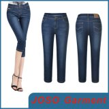 Fashionable Capri Denim Ladies Jeans (JC1125)