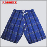 Plaid Men's Board Shorts with Competitive Price