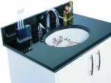 Absolutely Black Granite Bathroom Vanity Top