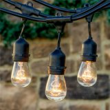 UL S14 Bulbs LED Outdoor Weatherproof Commercial Grade String Lights