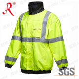 Customized Reflective Safety Wear with Waterproof & Windproof (QF-573)