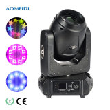 150W Mini LED Moving Head Beam DMX Stage Light Price with Glass Gobos