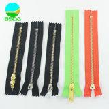 Lower Price Wholesale 5# Close End Stainless Steel Zipper Heavy Duty Custom Metal Zipper