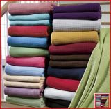 Solid Color Cotton Thermal Blanket (HRCB001)