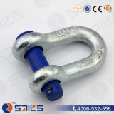 Rigging U. S. Type Round Pin G215 Chain Shackle