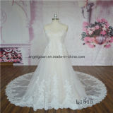 Elegant Lace A Line Bridal Wedding Dress