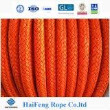 Orange Color 12 Strand UHMWPE Rope Lifting Rope