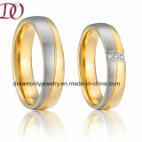 Ebay New Fashion Hot Sale Wedding Band Ring Stainless Steel Ring Engagement Couple Finger Ring
