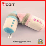2 Colors Lovely Plush Milk Bottle Pet