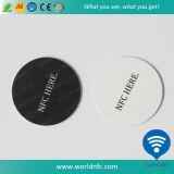 13.56MHz 144byte Ntag213 PVC Smart RFID Coin Card
