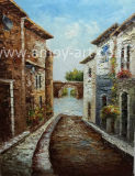 Handmade Classical Venice Oil Painting for Home Decoration