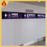LED Airport Indoor Light Box Road Sign