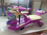 New Design Colorful 4 Wheels Children Play Swing Toy Cars for Kids Twist Car