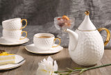 European Bone China Coffee Cup Tea Ceramic Tea Cup British Household Coffee Set