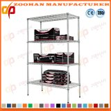 Adjustable Wire Bookcase Shelving Garage Storage Rack Shelves Wholesale (Zhw143)
