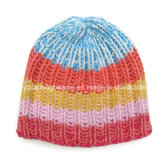 Fashion Ladies Street Multi Knitted Hat