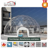 Clear Cover Geodesic Dome Tent for Outdoor Parties and Weddings