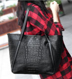 Fashion Crocodile Handbag Big Bag of Designer Hand Bag (XP1200)