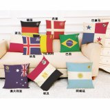 Flag Logo Digital Printed Pillows Best Price Pillow