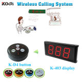 Hot Sell Call Bell Button Restaurant Equipment Water Calling System