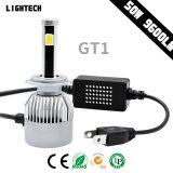 Newest Auto LED Headlight 4side Brigelux COB (USA) 9600lm H4 Car LED Light