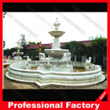 Antique Marble Stone Carving Water Fountain for Garden Decoration