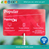 Cr80 Plastic I-Code Sli S Contactless IC Smart RFID Card