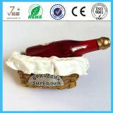 European Top Grade Red Wine Bottle 3D Resin Fridge Magnet