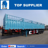 Titan 3 Axle Flatbed Full Stake Trailer Shipping Container Trailers for Sale
