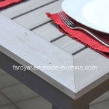 Home Hotel Restaurant Garden Furniture Dining Table Set Aluminum Wicker Plastic Wood Polywood Outdoor Furniture