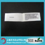 Original Polyester Customized Garment Care Printed Labels