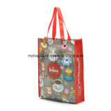 PP Woven or Non Woven Tote Promotion Bag for Shopping