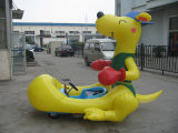 2015 New Model Inflatable Kid Motor Electric Battery Animal Bumper Car for Rental (FLFC)