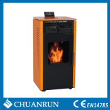 Orange with Black Biomass Stove (CR-07)