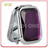 Factory Wholesale Folding & Portable Square Cosmetic Mirror