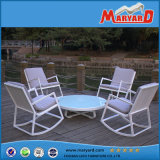 Wholesale Leisure Patio Terrace Furniture Polywood Garden Rocking Chair and Round Table