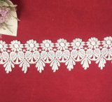 White Chemical Lace for Wedding Dress