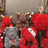 "16""/40cm Rose Bear Wedding Return Gifts at High Quality Cheap Price"