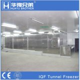 500kgs Stainless Steel IQF Tunnel Freezer