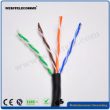 U/UTP Steel Wire Support Unshielded Network Cable Cat 5e Twisted Pair Installation Cable