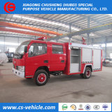Dongfeng 4X2 Emergency Fire Fighting Trucks with Water and Foam Tank 6, 000liters