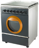 4 Burner Gas Stove with Grill and Oven